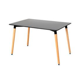 Mesa De Comedor Importado Diseño Moderno 6 Puestos. Reiva