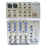 Consola Marca Alto L-6 De Seis Canales Con Efectos Digitales
