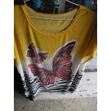Blusa Seda Fria Para Señoras!!todos Los Talles!!desde $179