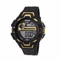 Relógio Mormaii Masculino Wave Digital Mo1082a/8d Wr 100m/