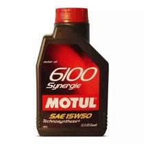 Óleo Lubrificante P/motor Motul 6100 Synergie 15w50 (4x4)