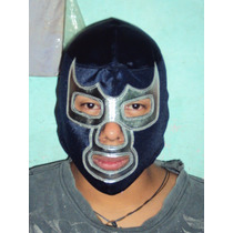 Mascara De Luchador Blue Demon Jr Profesional