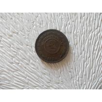 Ab140- Moneda Paraguay 1870 2 Centimos, Cobre