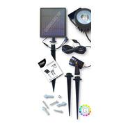 Estaca Solar X 2 Luces Led + Panel Y Envio Gratis