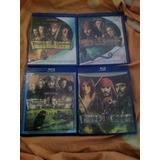 Saga Piratas Del Caribe Blu-ray