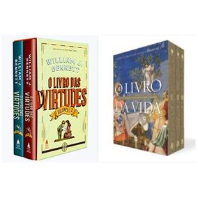 Box O Livro Das Virtudes + Box O Livro Da Vida - Capa Dura