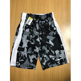 Pantaloneta Baloncesto Nike Para Niño 678680-010