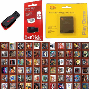 Kit Ps2 Memory Card+opl+pen Drive 32gb Envio Rapido