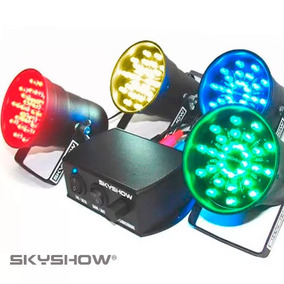 Kit Canhão Sequencial Led Sk1200 Vortex C/ Sensor - Strobo