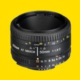 Lente Nikon Af Nikkor 50mm F/1.8d Montura Dx Envío Gratis