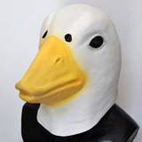 Mascaras Latex Pato Ganso Oca Cisne Animales Disfraces