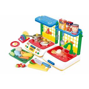 Cocinita Set Infantil Efectos Luz Y Sonido Envío Gratis!
