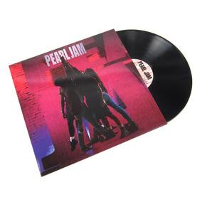 Pearl Jam Ten Vinilo Lp Nuevo Cerrado En Stock