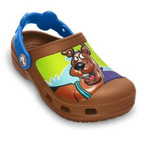 Sandália Infantil Crocs Creative Scooby