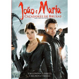 João E Maria Caçadores De Bruxas Dvd Original Novo Lacrado
