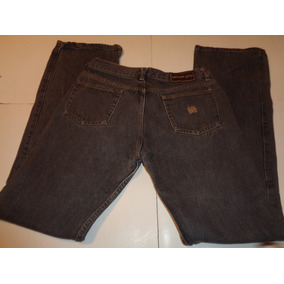 Pantalon De Jean Negro Dama Talle 30 Lee