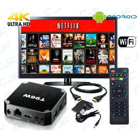 Convertidor Smart Android Tv Box Netflix Youtube Hd 4k Wifi