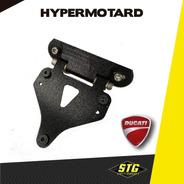 Portapatente Fender Rebatible Stg  Ducati Hypermotard C/g