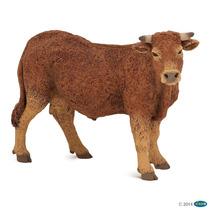 Vaca Lemosina Papo Animales Colección Pintado A Mano