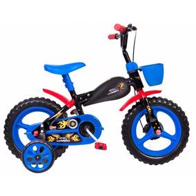 Bicicletinha Bicicleta Infantil Moto Bike Aro 12 - Envio 24h