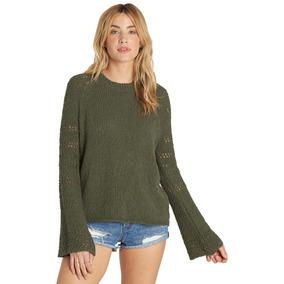 Sweater Billabong Cozy Love Mujer Verde
