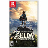 The Legend Of Zelda Breath Of The Wild Nintendo Switch Nuevo