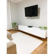 Tapete Sala Quarto Luxo 1,32m X 2,00m Antiderrapante Safira
