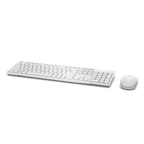 Kit Teclado E Mouse Wireless Dell Km636 Branco