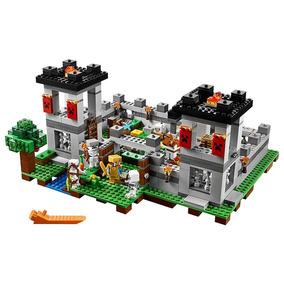 Minecraft A Fortaleza Blocos De Montar 795 Pçs Frete Grátis