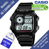 Reloj Casio Ae-1200wh Original Nuevo En Caja Delivery Gratis