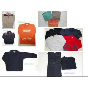 Saldo De 40 Sweaters, Sacos, Camperas Tejidos Bebe Y Niños