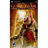 God Of War Chains Of Olympus -- Psp Caja Original