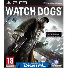 Watch Dogs - Português-br - Psn Ps3 - Envio Imediato