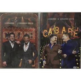 Kit Dvds Cabaré 1 E 2 - Eduardo Costa E Leonardo (lacrado)