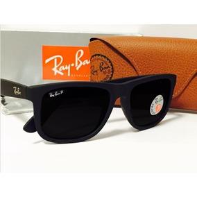 Óculos Rayban Justin 4165 Wayfarer Polarizado Varias Cores