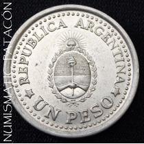 Moneda De 1 Peso Conmemorativa 1960 - Excelente