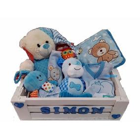 Ajuar Bebe Nacimiento Recien Nacido Caja Personalizada