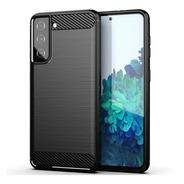 Funda Tpu Fibra Carbono Para Samsung S21 S21 Plus S21 Ultra