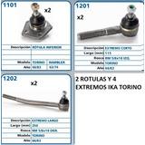 Kit De Tren Delantero Torino 66/82 Direccion Hidraulica