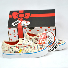 Hello Kitty Vans Tenis 100% Originales
