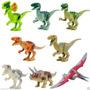 Set De 8 Dinosaurios Compatible Con Lego