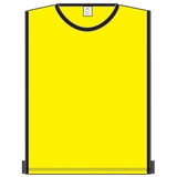 Colete Treino Futebol/futsal Amarelo/preto Tam Único Kanxa