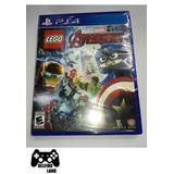 Ps4 Juego Lego Marvel Avengers