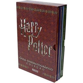 Box Harry Potter - Guia Cinematográfico - Coleção 4 Livros.