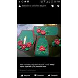 Adornos De Navidad En Foami Juegos Baño Bambalinas Peluches