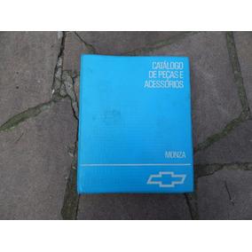 Catálogo De Peças E Acessórios Monza Edição 1992 Original Gm