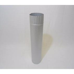 Cano Para Chaminé De Fogão A Lenha N. 01 C/ 50cm Chapa Galva