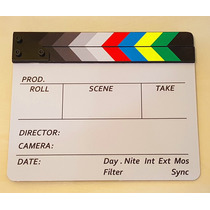 Claquete De Cinema Profissional Para Produção De Filmes