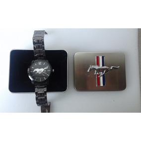Reloj Mustang Con Estuche
