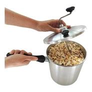 Pochoclera Familiar Olla De 5l Aluminio Pochoclos Pop Corn